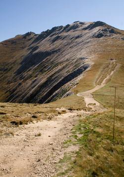 Along the ridge, High Tatras