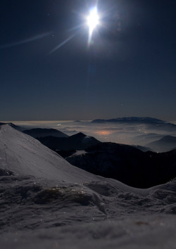 Above the clouds, High Tatras