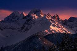 Tatras dusk