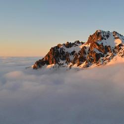 Tatra mountain climb cloudshot
