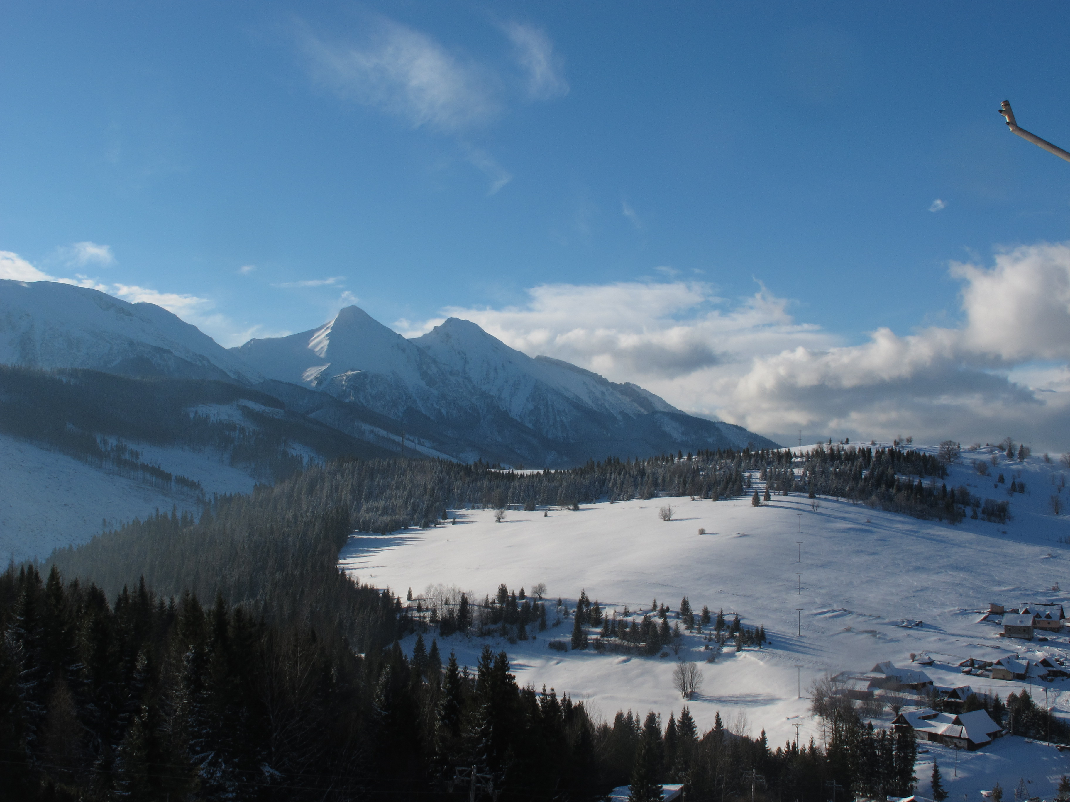 Belianske Tatry in winter