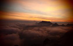 sunset tatras