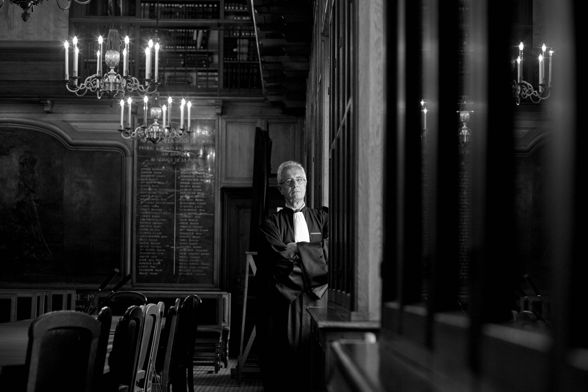 Maître Le Borgne © Emmanuel Pain