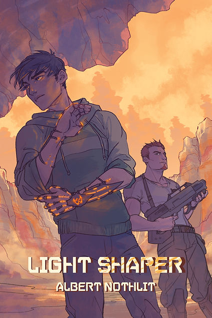 Light Shaper by Albert Nothlit, Haven Prime Book 2