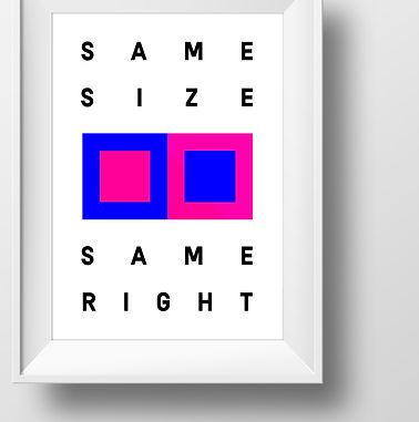 same-size-same-right-poster-vaxt-gender equality