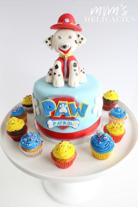 Paw Patrol Marshall Cake