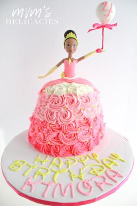 Tiana Princess & the Frog  Cake