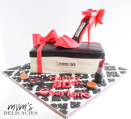 Stiletto Jimmy Choo Cake