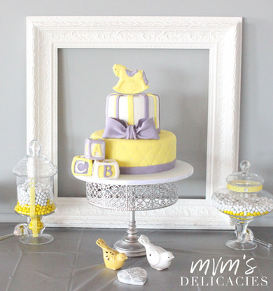 Yellow Horse Cake