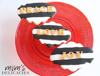 Peace Love Joy Cookies