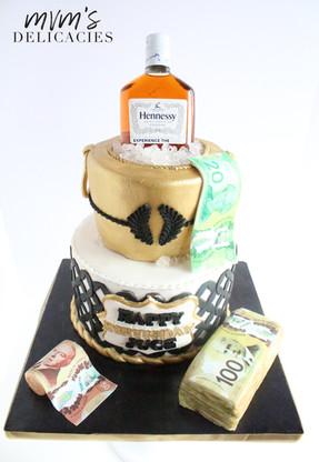 Hennesssy Cake