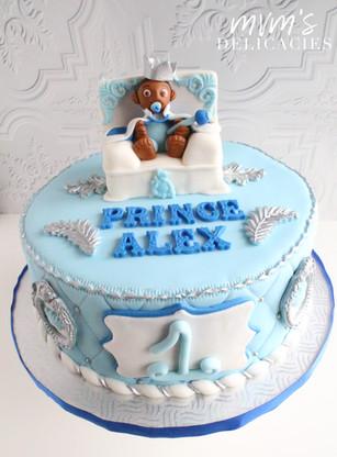Baby Prince Cake