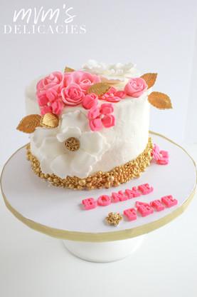 Gold & Pink Cake
