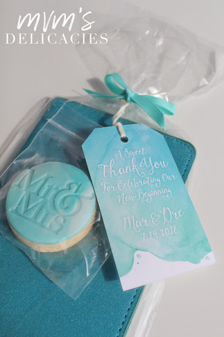Mr/Mrs Wedding Cookies