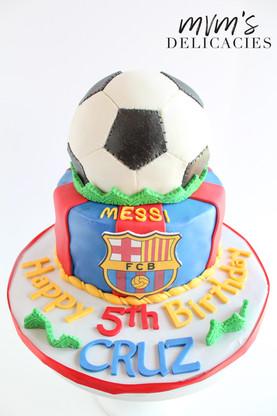 Soccer Messi Cake
