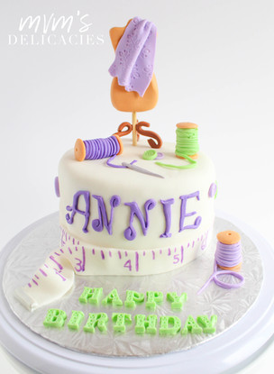 Fashion Design Cake