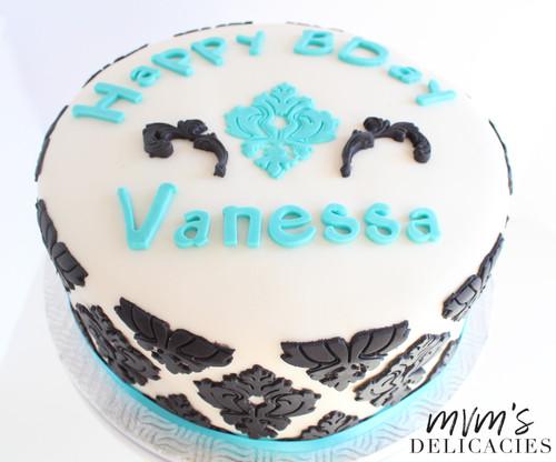 Damask Cake