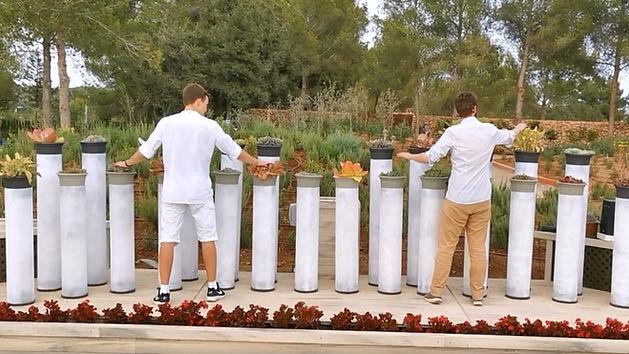 Bioo Installations Photo Bioo Piano Ibiza musica con plantas music with plants