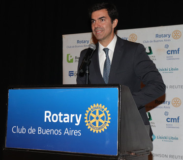 JUAN MANUEL URTUBEY EN EL CICLO DE CONFERENCIAS DEL ROTARY CLUB DE BUENOS AIRES