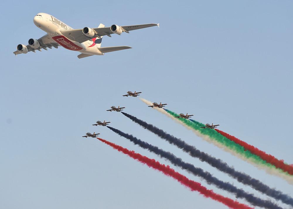 EMIRATES CELEBRA 10 AÑOS OPERANDO EL A380, EL AVION DE PASAJEROS MAS GRANDE DEL MUNDO