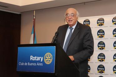 MIGUEL ÁNGEL BRODA EN EL CICLO DE CONFERENCIAS DEL ROTARY CLUB DE BUENOS AIRES