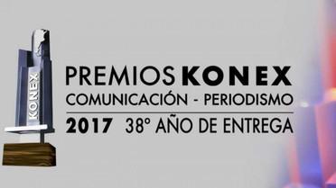 PREMIOS KONEX 2017: COMUNICACIÓN-PERIODISMO SE ENTREGARON LOS KONEX DE PLATINO, BRILLANTE, HONOR, ME