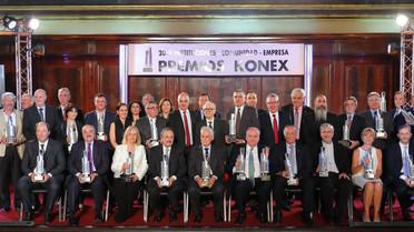 PREMIOS KONEX 2018:  INSTITUCIONES - COMUNIDAD -EMPRESA