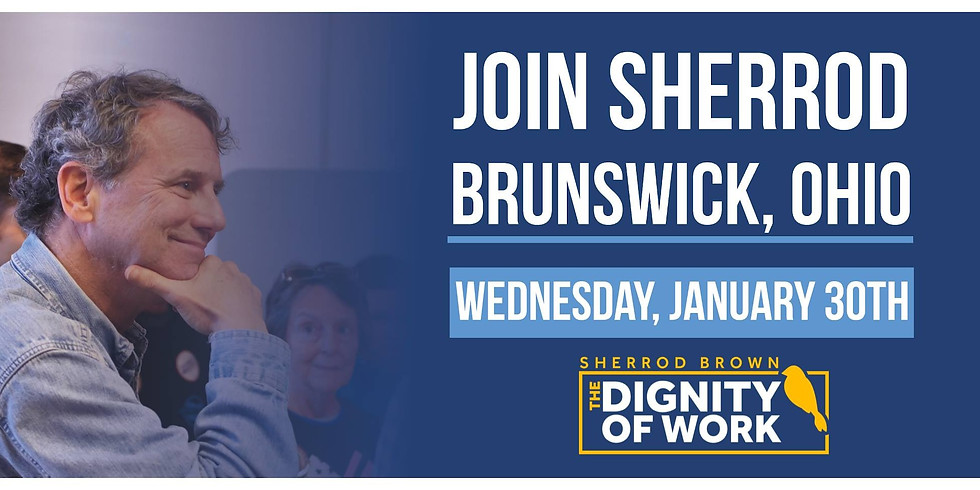 Sherrod Brown's Dignity of Work Tour Kick-Off
