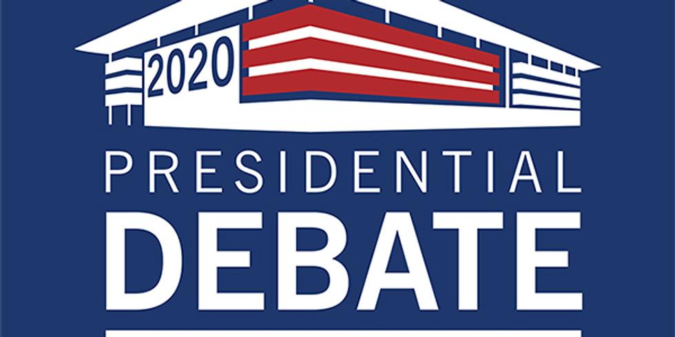 Online Debate Watch Party- Thursday October 22