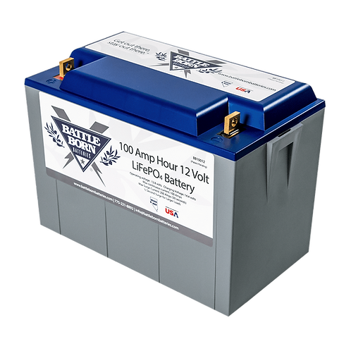 Battle Born 12V 100 Ah Lithium Battery BB10012