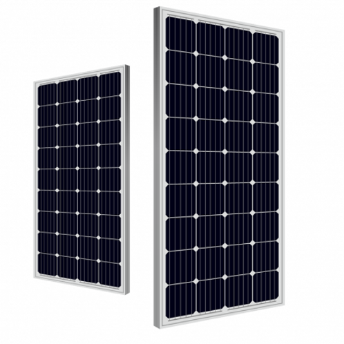 100 Watt Solar Panel, Monocrystalline