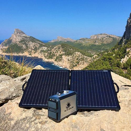 Portable Solar Generator, 500W / 525Wh