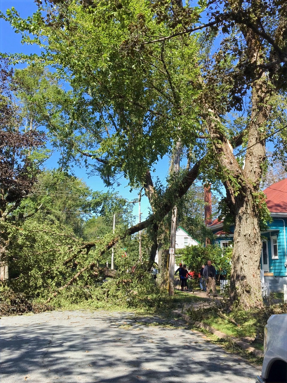 More than 348,000 Nova Scotians were left without power after Hurricane Dorian