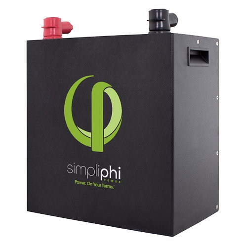SimpliPhi 3.8 kWh Lithium Battery (LiFePO4), 24/48 VDC