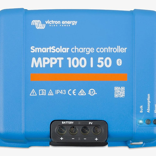Victron SmartSolar MPPT 100/50 Charge Controller, 12/24V