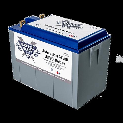 Battle Born 24V 50 Ah Lithium Battery BB5024