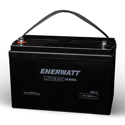 Enerwatt 12V 110 Ah Lithium Battery WPL31