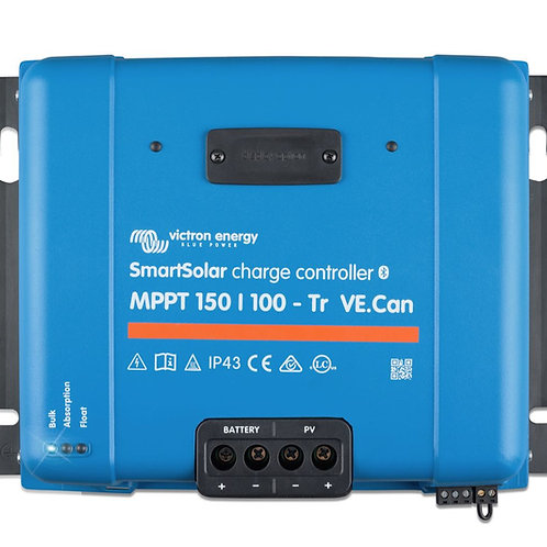 Victron SmartSolar MPPT 150/100-Tr VE.Can Charge Controller, 12/24/36/48 V