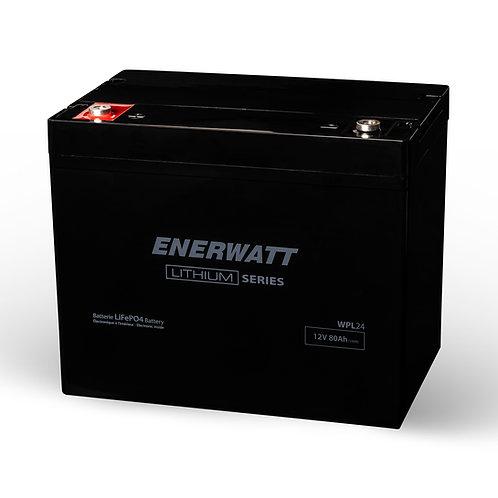 Enerwatt 12V 88 Ah Lithium Battery WPL24