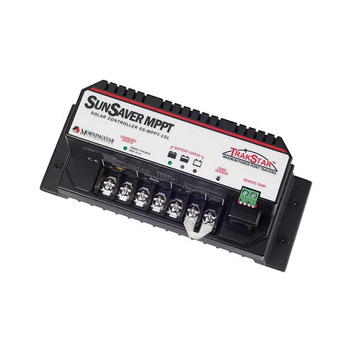 Morningstar 15A SunSaver MPPT Charge Controller, SS-MPPT-15L