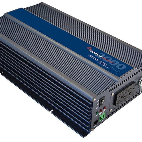 Samlex Pure Sine Wave Inverter, 2000 Watts, 12 VDC