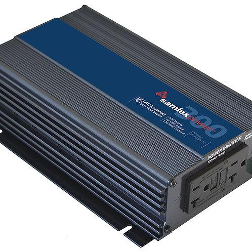 Samlex Pure Sine Wave Inverter, 300 Watts, 12 VDC
