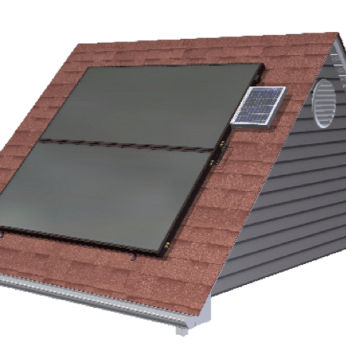 S32 Solar Collector, Flat Plate Thermal
