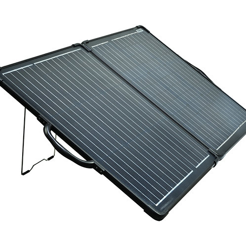 100 Watt Folding Solar Panel, Monocrystalline