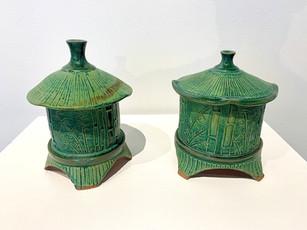 Bamboo Jars