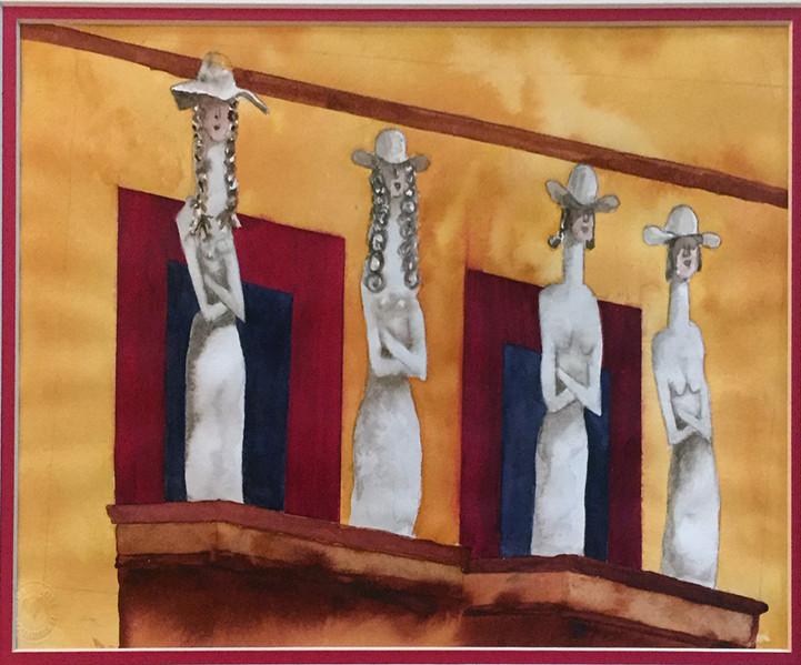 Balcony in San Miguel de Allende 2