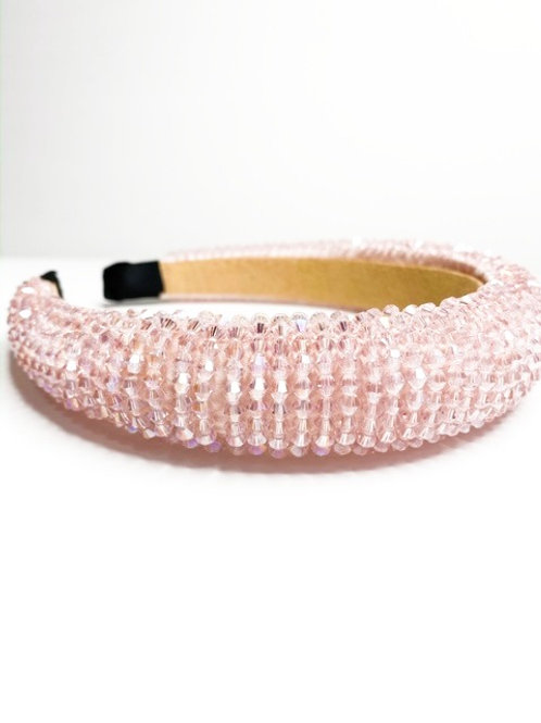 Pink Crystal headband