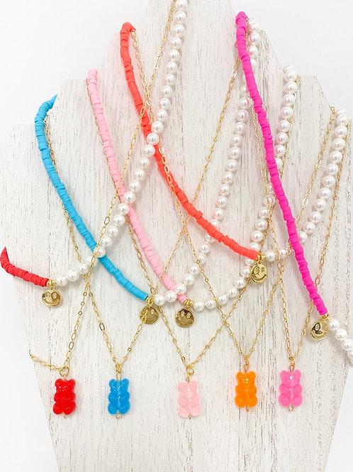 Layered necklace set