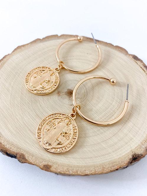 Coin hoop