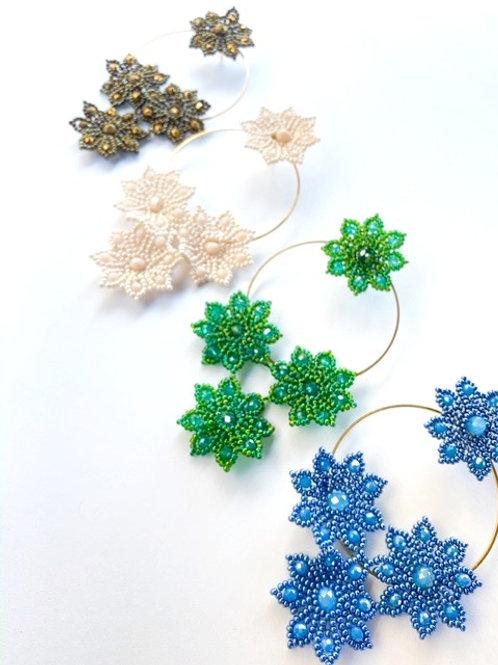 Miyuki Flower Hoop